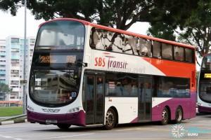 SBS Transit Volvo B9TL Wright (SBS3951L) - Service 89e