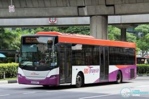 SBS Transit Scania K230UB (SBS5087T) - Service 91