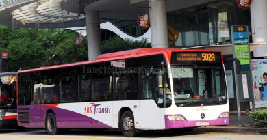 SBS Transit Mercedes-Benz Citaro (SBS6030A) - Service 502A