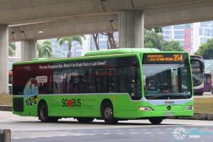 SBST Mercedes-Benz O530 Citaro (SBS6479P) - Service 354