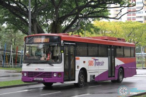 SBST Volvo B10M Mark III (SBS675D) – Chinatown Direct CT28