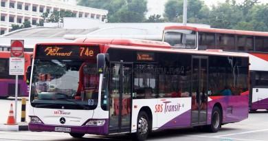 SBS Transit Mercedes-Benz Citaro (SBS68450A) - Service 74e