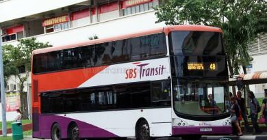 SMRT Volvo B9TL CDGE (SBS7411C) - Service 48