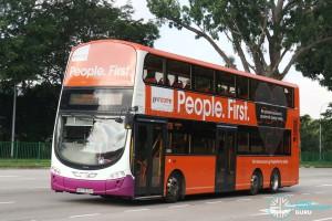 SBS Transit Volvo B9TL Wright (SBS7670B) - Service 70B