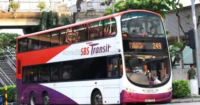 SBS Transit Volvo B9TL Wright (SBS7729L) - Service 249