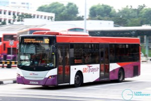 SBS Transit Scania K230UB (SBS8236K) - Service 112