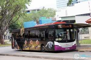 SBS Transit Scania K230UB (SBS8962Y) - Service 91
