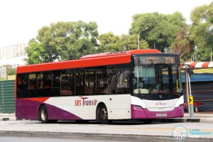 SBS Transit Scania K230UB (SBS8992K) - Service 27A