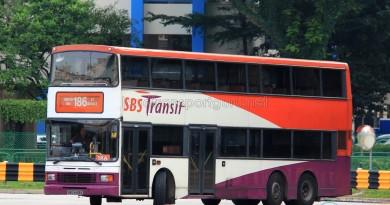 SBST Volvo Olympian 3-axle (SBS9458E) - Service 186