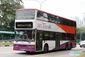 SBS Transit Dennis Trident (SBS9679J) - Service 74