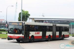 SMRT Mercedes-Benz O405G MkII (TIB981B) - Service 902