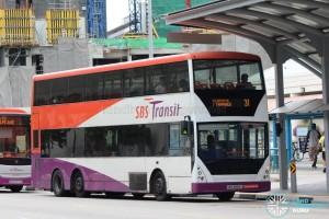 SBS Transit Volvo B10TL (SBS9889U) - Service 31