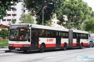 SMRT Mercedes-Benz O405G MkII (TIB994P) - Service 301
