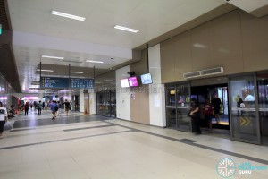 Bedok Bus Interchange - Alighting Berth