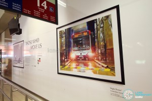 Bedok Bus Interchange - LTA Photo Exhibition