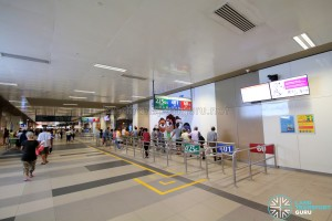 Bedok Bus Interchange - Passenger concourse near Berth B1