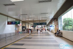 Bedok Bus Interchange - Passenger concourse near Berth B9
