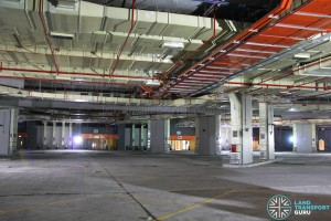 Bedok Bus Interchange - Bus Park (Pre-opening)