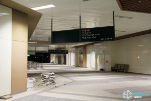 Bedok Bus Interchange - Concourse near Berth B7 (Pre-opening)