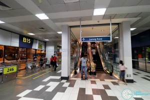 Boon Lay Bus Interchange - Escalator to Jurong Point Level 2