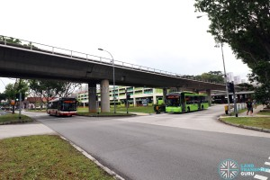 Bukit Batok Bus Interchange - North concourse exit