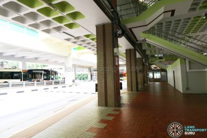 Bukit Batok Bus Interchange - Alighting Berths