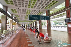 Bukit Batok Bus Interchange - Concourse seating