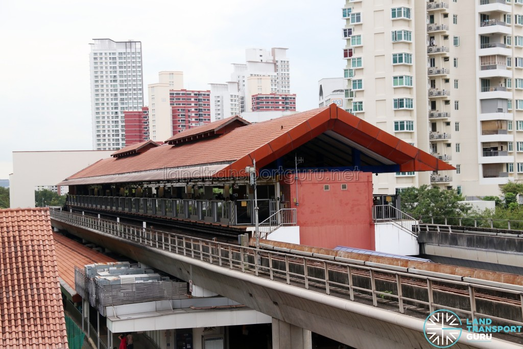 Bukit Batok MRT station exterior