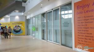 Bukit Panjang Bus Interchange - Hillion Mall access