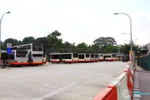 Bus Park area