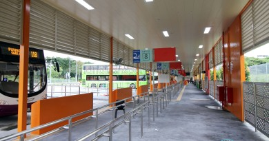 Changi Business Park Bus Terminal - Concourse