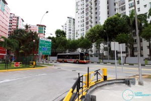 Choa Chu Kang Bus Interchange - Vehicular Entrance