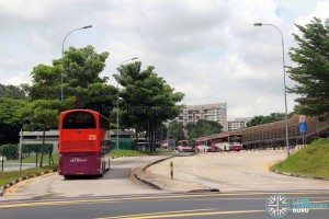 Clementi Temporary Bus Interchange - Entrance/Exit