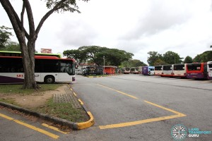 Lorong 1 Geylang Bus Terminal - Alighting area