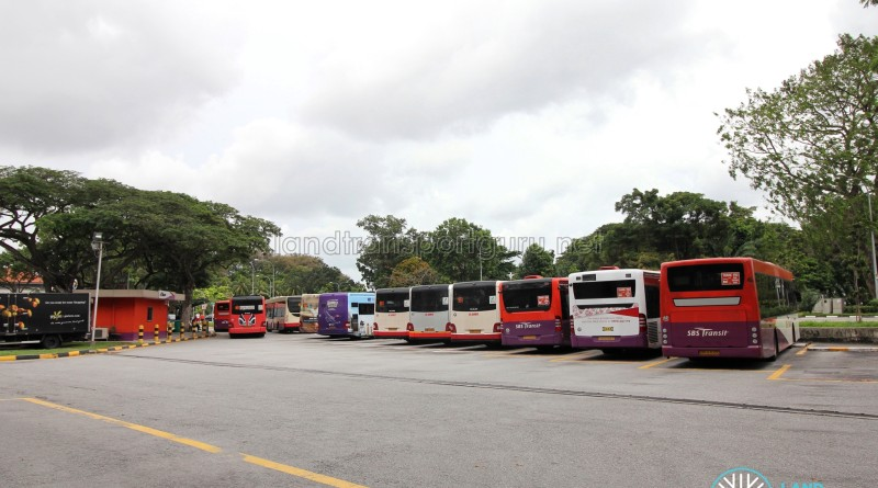 Lorong 1 Geylang Bus Terminal - Parking lots