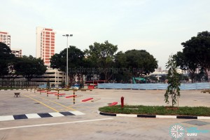 Hougang Central Bus Interchange Expansion - New Parking Lots