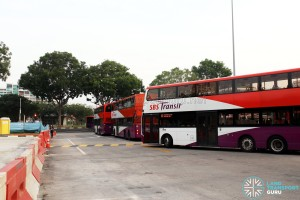 Hougang Central Bus Interchange Expansion - Old Exit Lane to be phased out
