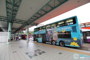 Hougang Central Bus Interchange - Alighting Berth