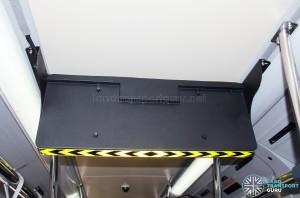 Rear view of LTA's Trial PIDS screen