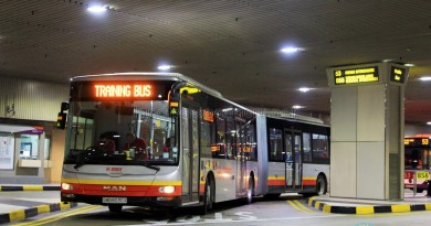 SMRT MAN A24 (SMB8030X): Changi Airport Basement Training