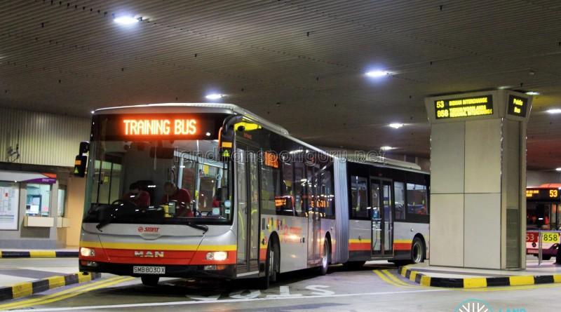 SMRT MAN A24 (SMB8030X): Changi Airport Basement Training