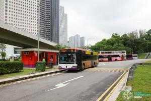 Marina Centre Bus Terminal - Vehicular exit