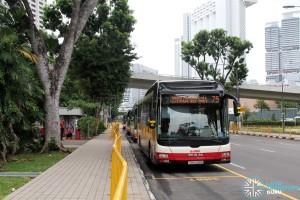 Marina Centre Bus Terminal - SMRT bus lots
