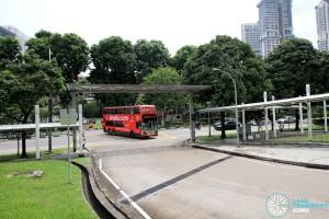 New Bridge Road Bus Terminal - Vehicle ingress