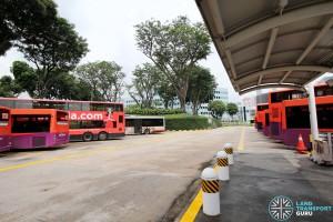 New Bridge Road Bus Terminal - Bus Park