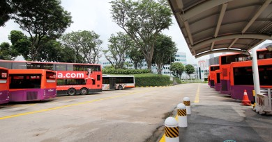 New Bridge Road Bus Terminal - Bus Park