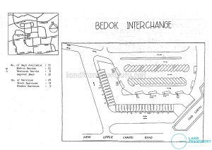 Layout of Old Bedok Bus Interchange