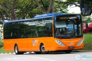ComfortDelgro Bus Volvo B9L (PA3867R) - NUS ISB A1