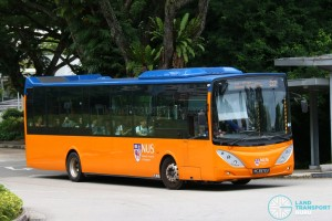 NUS Volvo B9L - Internal Shuttle Bus D2 (PA3972U)