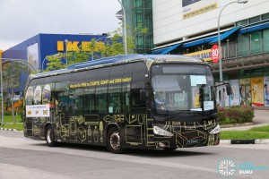 ComfortDelGro Bus Scania K230UB (PA9841K) - Not In Service